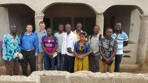 Dupa o adunare in vizita la un interesat in Kumasi, Ghana, Martie 2016